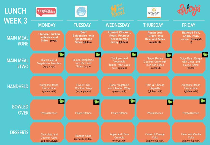 Cafe menu 2021 lunch week 3