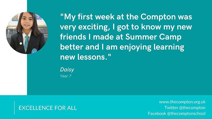 Daisy's feedback