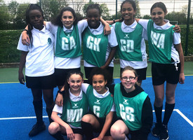 Year 7 Girls Netball Playoffs