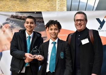 Young Enterprise Win Best Customer Service Award