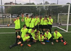 Year 8 Football Middlesex Champions