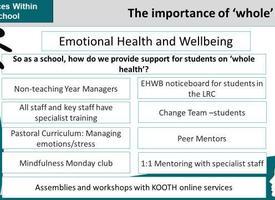 Services in school website