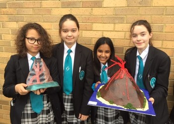 Year 7 Geograpghy Model Volcano Competition