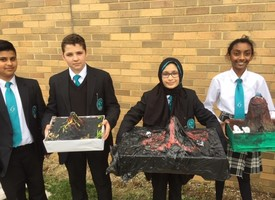 Y7 geography model volcano competition 03