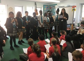 Music transition workshop at holly park school 03