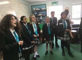 Music transition workshop at holly park school 04