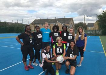 Sixth Form and Staff Charity Netball Match