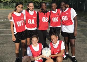 Girls' Netball off to a winning start