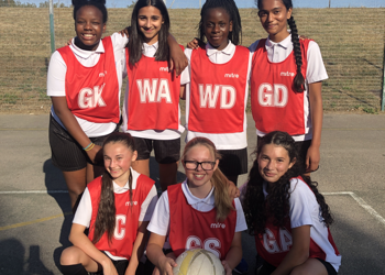 Year 7 and Year 8 Netball v St James