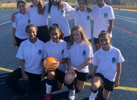 Year 7 girls football v christ college finchley