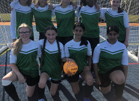 Year 8 girls football v christ college finchley