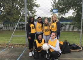 Senior netball team