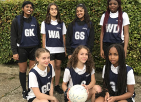 Year 10 netball tournament