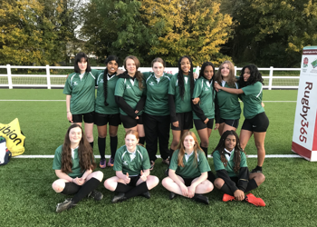 Year 9 and 10 Girls Middlesex Cup Rugby