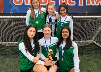 U13 Girls Football EFL Champions