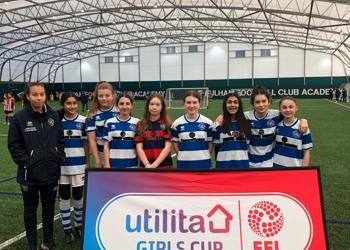 U13 Girls Football Team Represented QPR in the EFL Tournament