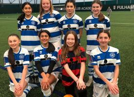 U13 girls football team represented qpr photo 02