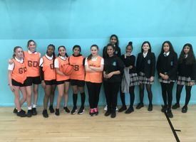 Year 9 girls interform basketball 01
