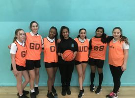 Year 9 girls interform basketball 02