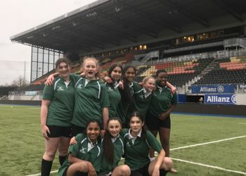 Year 8 Girls Rugby Barnet Champions