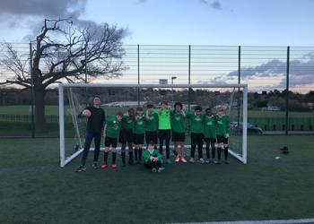 Year 8 Boys Football V JCOSS