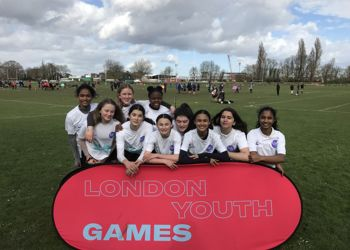 Year 8 Girls' Rugby Team Represented Barnet in the London Youth Games