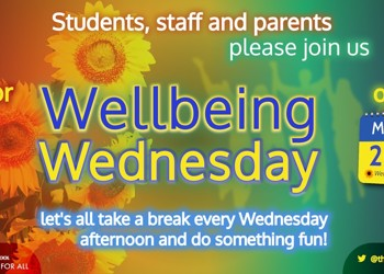 Wellbeing Wednesday - 15/07/2020