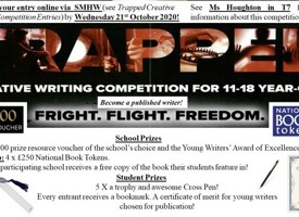 Trapped creative writing competition