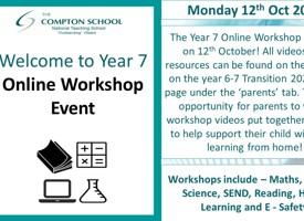 Year 7 virtual workshop
