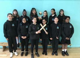 Year 7 rounders winners 2020