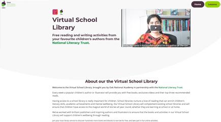 Virtual School Library