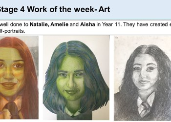 Work of the Week by KS4 - 8th February