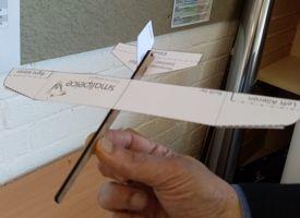 Science club crest award glider project