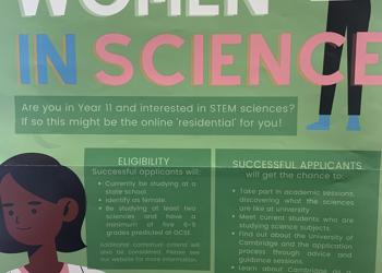 Year 11 Women in Science